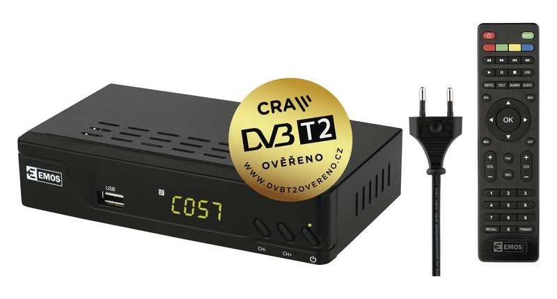 Set-top boxy DVB-T2