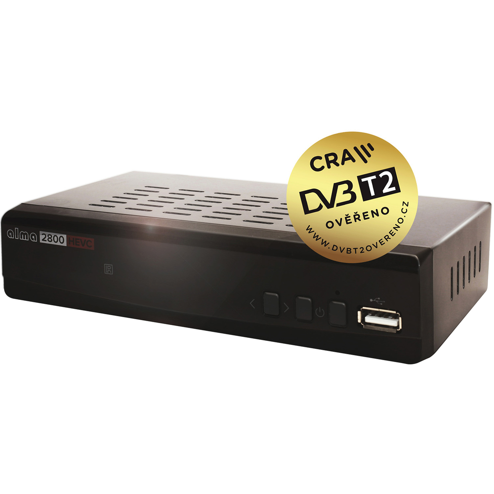 set-top box ALMA HD2800 DVB-T2 HEVC