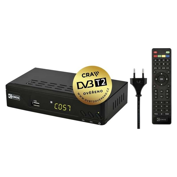 set-top box Emos EM 170 HD DVB-T2