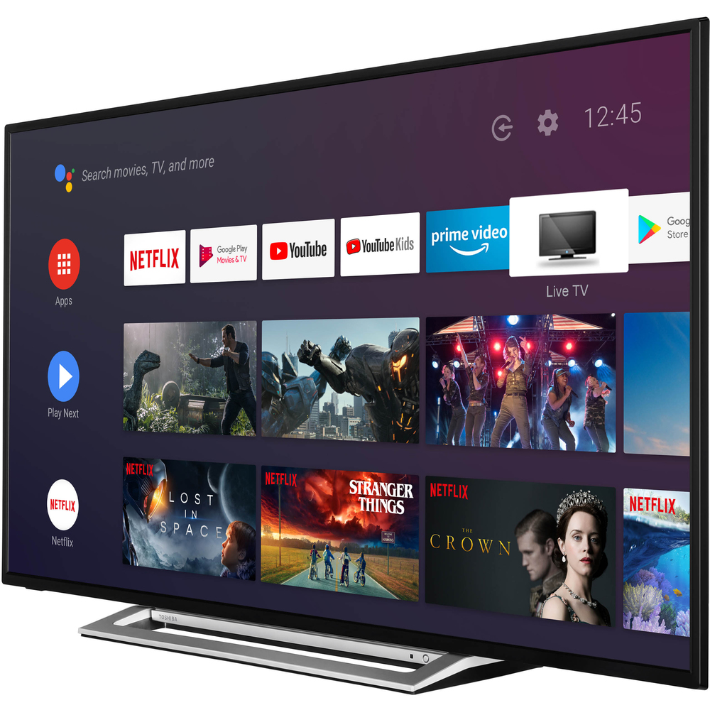 ULTRA HD 43UA3A63DG ANDROID SMART TV TOSHIBA