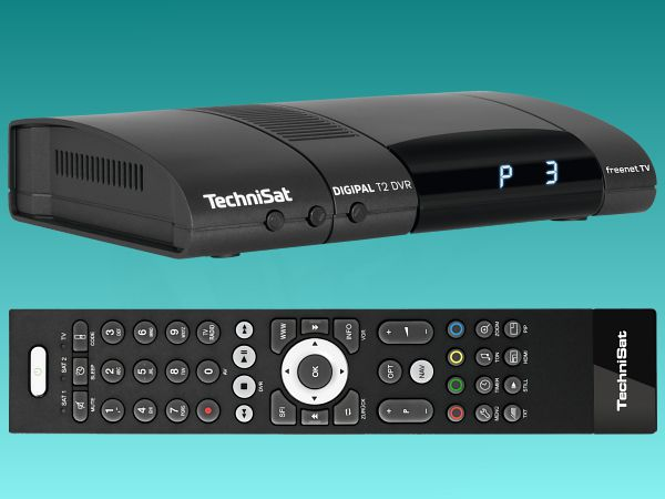 set-top box TechniSat DigiPal T2/C DVR, DVB-T2, antracit