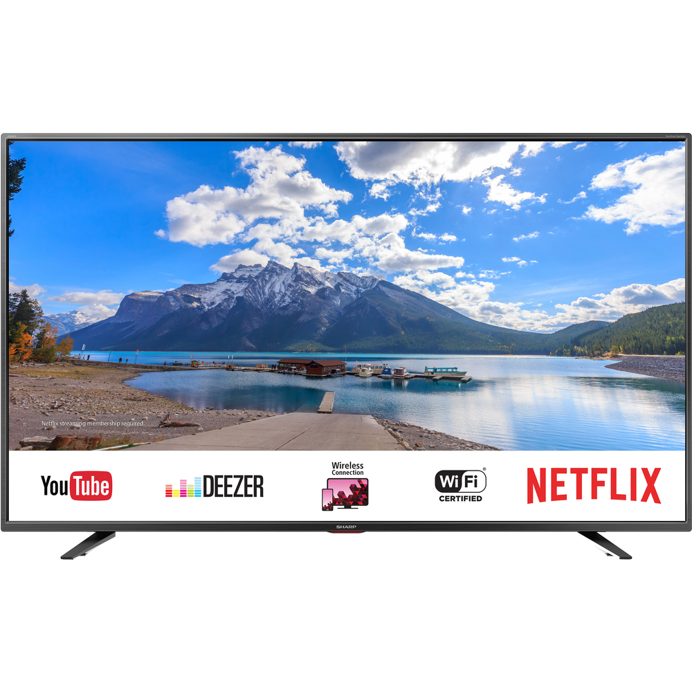55BJ5E SMART UHD 400Hz TV T2/C/S2 SHARP