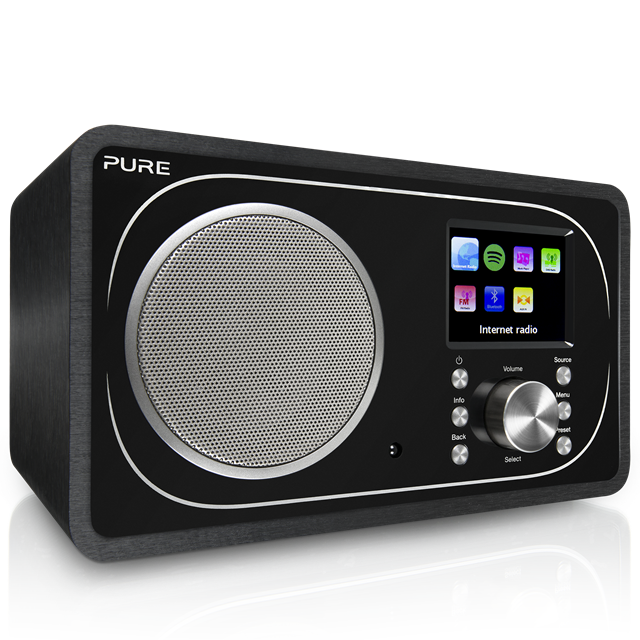 Pure Evoke F3 s Bluetooth a WiFi