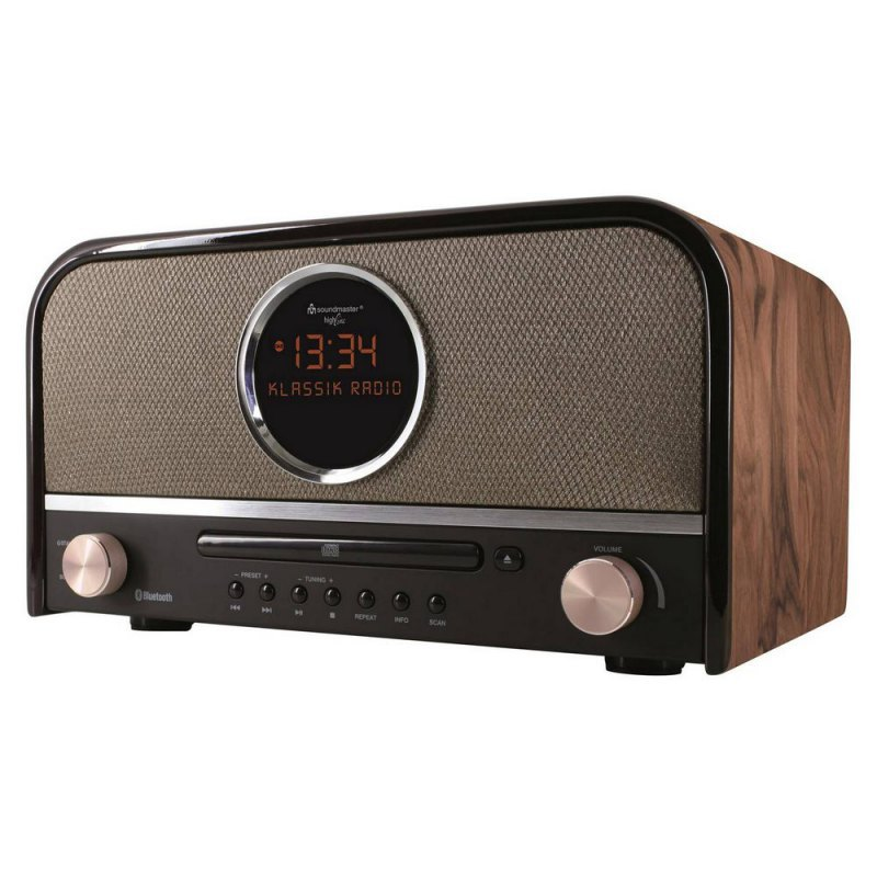 Soundmaster NR850 radio / USB/ FM/ CD/ BT/ DAB+ / retro design