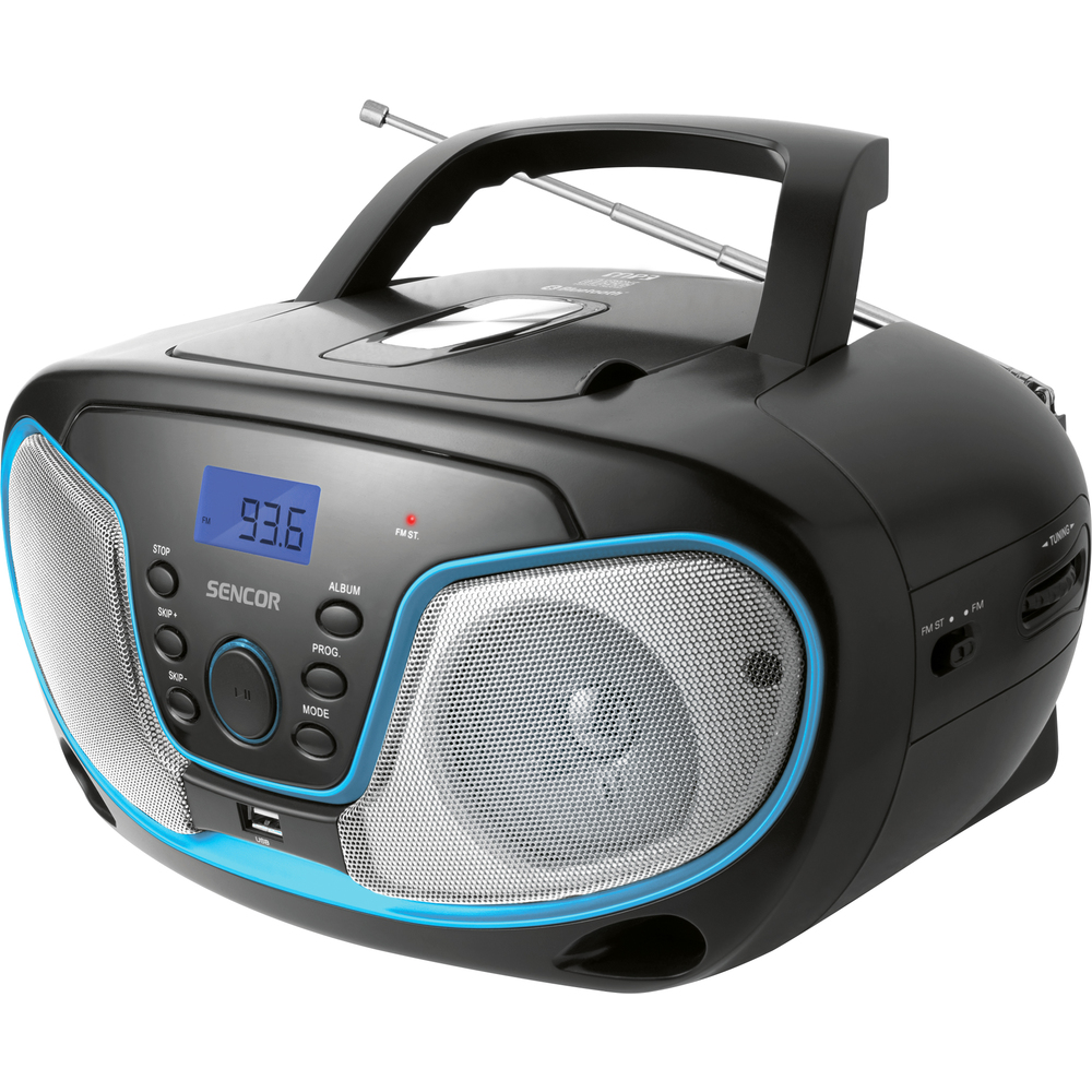 SPT 3310 RADIO S CD/MP3/USB/BT SENCOR