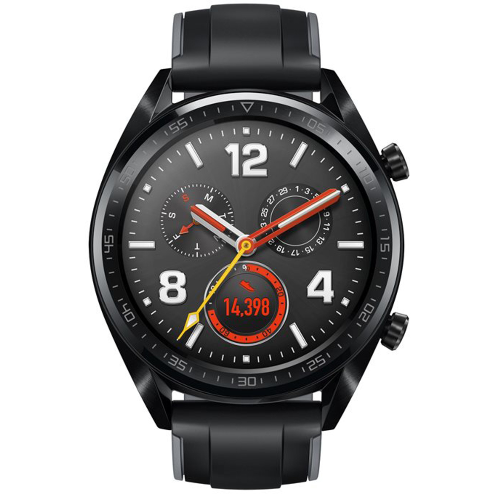 smart hodinky Watch Fortuna Sport Black HUAWEI
