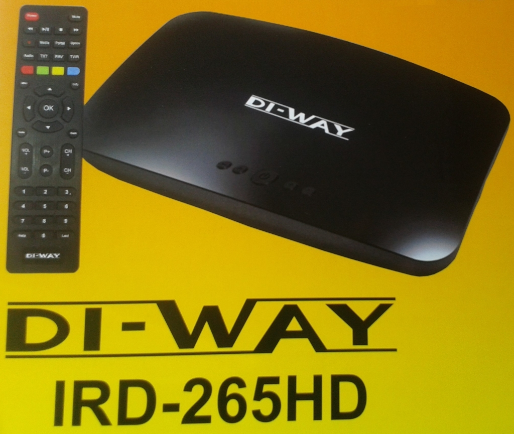 DI-WAY IRD-265HD