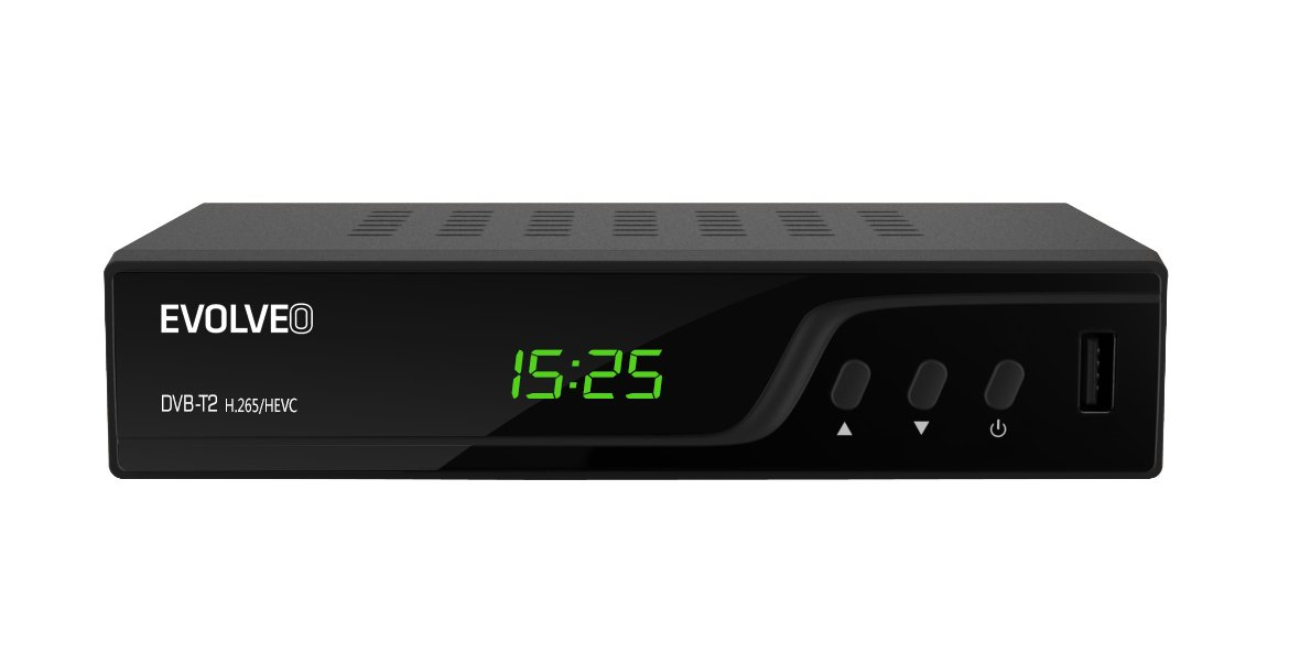 set-top box Evolveo Omega T2, DVB-T2