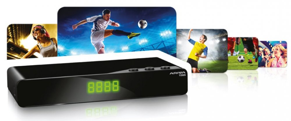 set-top box Ferguson Ariva T265, DVB-T2